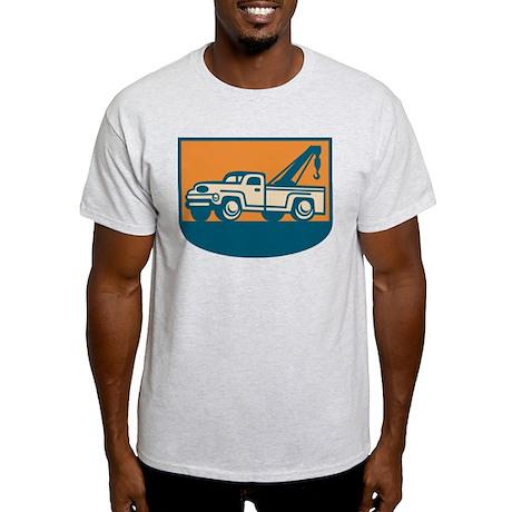 Vintage Tow Wrecker Pick-up Truck Light T-Shirt