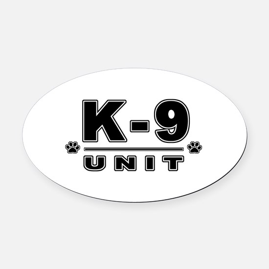 security.png Oval Car Magnet