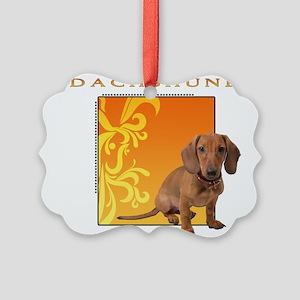 4-goldgolden Picture Ornament