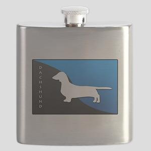 blueblack Flask