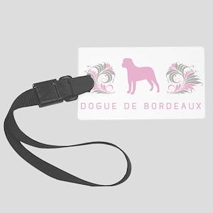 30-pinkgray Large Luggage Tag