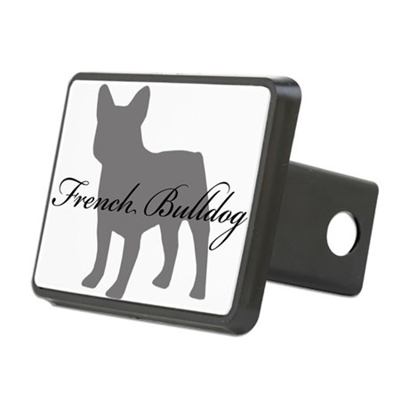 greysilhouette2 Rectangular Hitch Cover