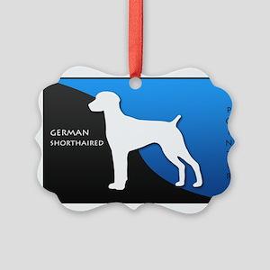blueblack Picture Ornament