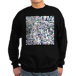 Geometric Grid of Colors Sweatshirt