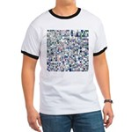 Geometric Grid of Colors T-Shirt