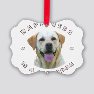 2-happiness Picture Ornament