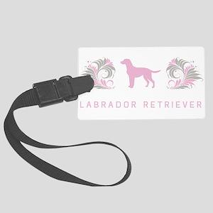 16-pinkgray Large Luggage Tag