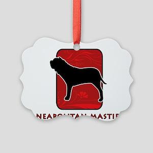 6-redsilhouette Picture Ornament