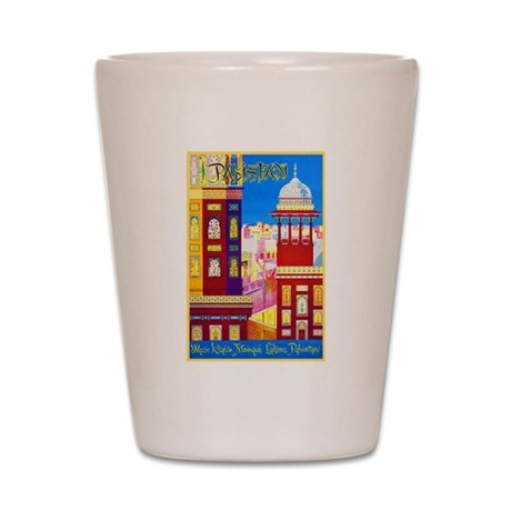 Pakistan Travel Poster 1 Shot Glass