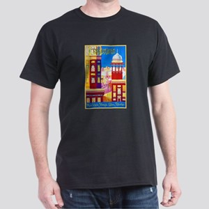 Pakistan Travel Poster 1 Dark T-Shirt