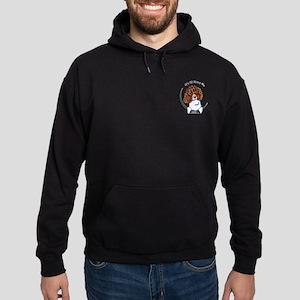 Springer Spaniel IAAM Pocket Hoodie (dark)