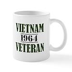 Vietnam Veteran 1964 Mug