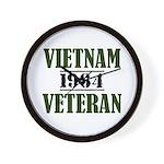 Vietnam Veteran 1964 Wall Clock
