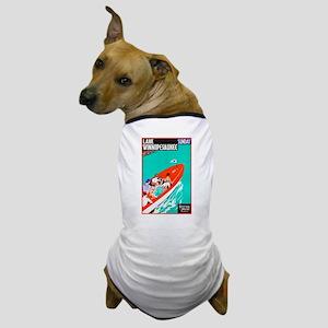 New Hampshire Travel Poster 2 Dog T-Shirt
