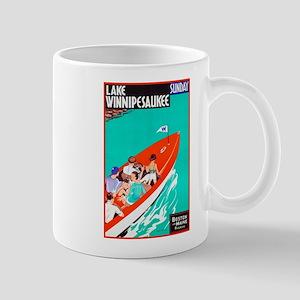 New Hampshire Travel Poster 2 Mug