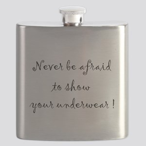 never be afraid to show your Flask
