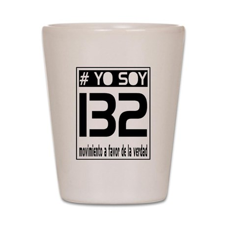 Yo Soy 132 Block Shot Glass