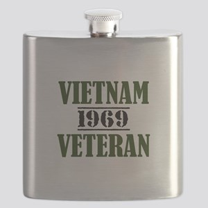 VIETNAM VETERAN 69 Flask