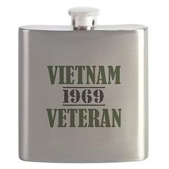 VIETNAM VETERAN 69 Flask