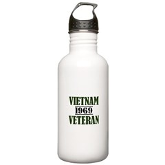 VIETNAM VETERAN 69 Water Bottle