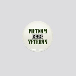 VIETNAM VETERAN 69 Mini Button