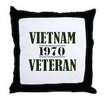 VIETNAM VETERAN 70 Throw Pillow