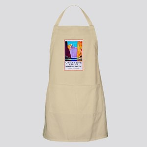 Norway Travel Poster 2 Apron