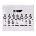 Equality Throw Blanket