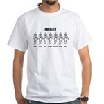 Equality White T-Shirt