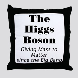The Higgs Boson Throw Pillow