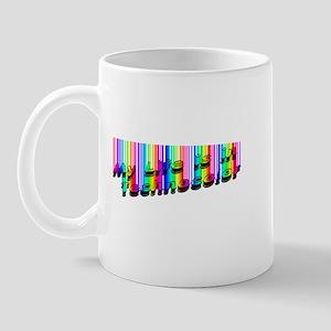 Techno Color Mug