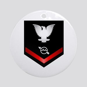 Navy PO3 Operations Specialist Ornament (Round)