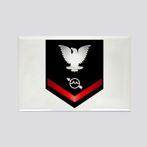 Navy PO3 Operations Specialist Rectangle Magnet
