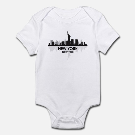 New York Skyline Infant Bodysuit