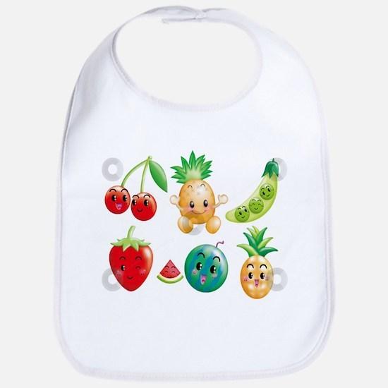 Cute vegetables Bib