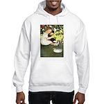 Little Girl Loves Her Kitty Hooded Sweatshirt