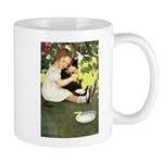 Little Girl Loves Her Kitty Mug