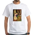 Babes In The Wood White T-Shirt