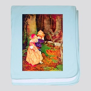Babes In The Wood baby blanket