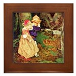 Babes In The Wood Framed Tile
