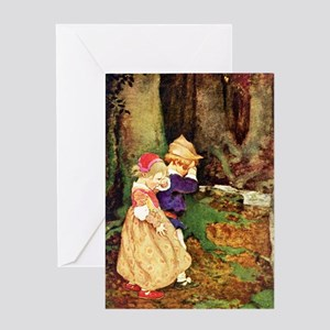 Babes In The Wood Greeting Card