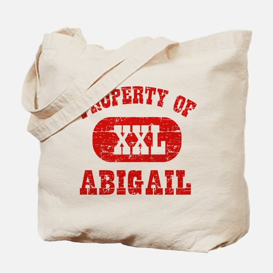 Property Of Abigail Tote Bag