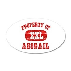 Property Of Abigail Wall Decal