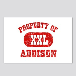 Property Of Addison Postcards (Package of 8)