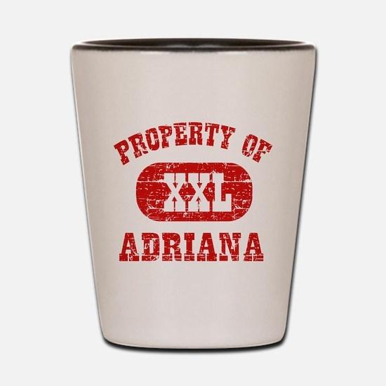 Property Of Adriana Shot Glass