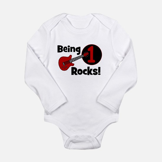Cute Celebrations Long Sleeve Infant Bodysuit