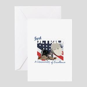 Fort Detrick Greeting Card