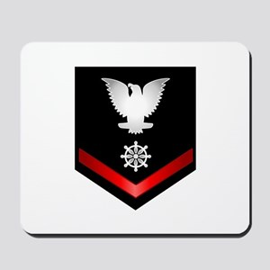 Navy PO3 Quartermaster Mousepad
