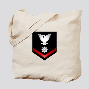 Navy PO3 Quartermaster Tote Bag
