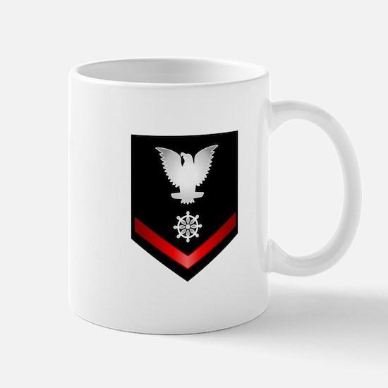 Navy PO3 Quartermaster Mug
